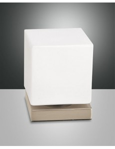 FABAS LUCE: Brenta lampada LED da tavolo oro opaco touch in offerta