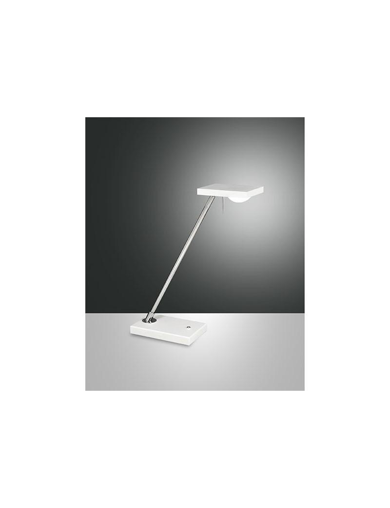 Lampade Da Ufficio A Led.Fabas Luce Lampada Da Tavolo Led Cromo Bianca Touch Misterlight It