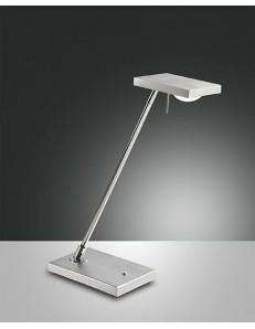FABAS LUCE 3405-30-212 LAMPADA DA TAVOLO LED COMO 8W 660lm TOUCH ALLUMINIO SPAZZOLATO