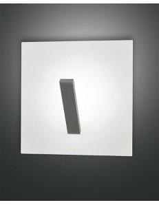Fabas Luce: Agia plafoniera LED quadrata bianca in offerta