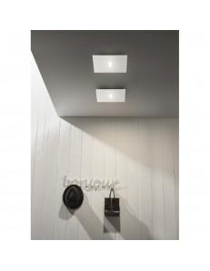 Tratto plafoniera LED metallo 30x30cm in offerta