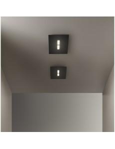 Tratto plafoniera LED metallo 40x20cm in offerta