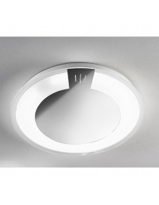 Allum plafoniera LED 38cm inox in offerta