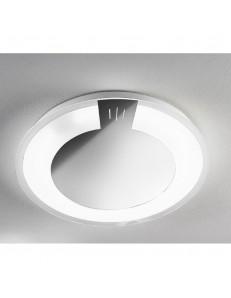 ANTEALUCE: Allum plafoniera LED 38cm inox in offerta