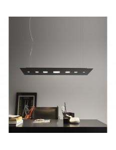 ANTEALUCE: Time sospensione LED doppia luce metallo 90x40cm in offerta