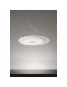 Fuoriskema round sospensione LED bianco 55cm in offerta