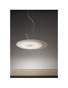 ANTEALUCE: Fuoriskema round sospensione LED tortora 55cm in offerta