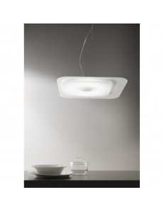 ANTEALUCE: Fuoriskema square sospensione LED bianco 55x55cm in offerta