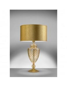 ANTEALUCE: Mary rose lampada da tavolo cristallo oro in offerta