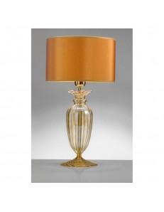 Lampada da tavolo Alyssa Gold Diametro 25 Antea Luce