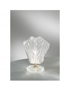 ANTEALUCE: Preziosa lumetto foglia cristallo trasparente in offerta