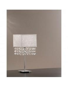 Lumetto Spark in tessuto glitterato con cristalli Antea Luce