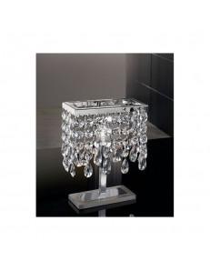 Fair lumetto con pendenti in cristallo