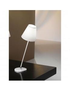 Lampada da tavolo Inklino bianca inclinabile Antea Luce