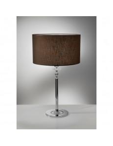 ANTEALUCE: Royal lampada da tavolo marrone moka in offerta