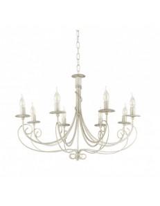 ONDALUCE: Chopin lampadario in rustico 8 luci in offerta