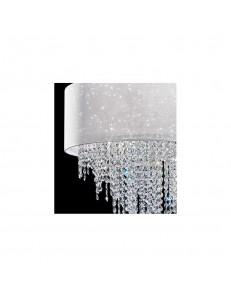 Piantana Glitter con cristalli a cascata Antea Luce