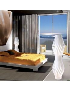 LINEAZERO: Helios lampada da terra design piantana bianca in offerta