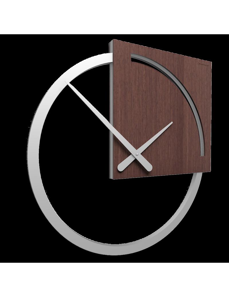 Orologio da parete Karl rovere wenge design italy callea 45cm moderno