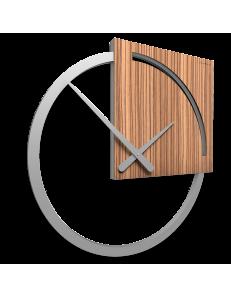 Orologio da parete Karl nero design italy callea 45cm moderno legno