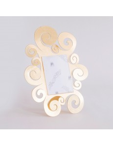 ARTI e MESTIERI: Temple portafoto da tavolo foglia oro piccolo 24x30cm in offerta