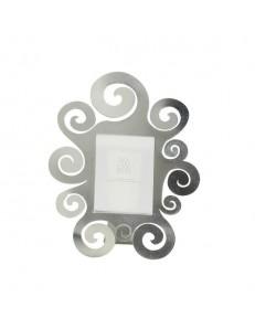 ARTI e MESTIERI: Temple portafoto da tavolo foglia argento grande 31x41cm in offerta
