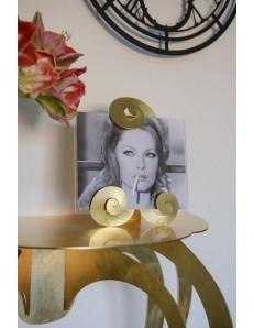 ARTI e MESTIERI: Tip foglia oro portafoto da tavolo 25x28cm in offerta
