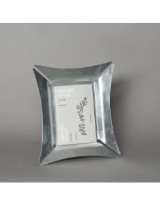 ARTI e MESTIERI: Morgana portafoto da tavolo piccolo foglia argento 26x28cm in offerta