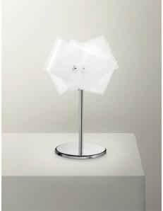 GEA LUCE: Penelope lumetto lampada da comodino moderna diffusore bianco vetro in offerta
