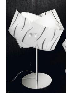 Gea Luce: Agnese lampada da como' camera da letto vetri fili