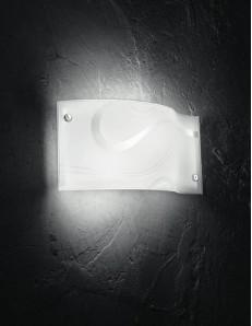 GEA LUCE: Noemi applique moderna in vetro design ondulato per interni in offerta
