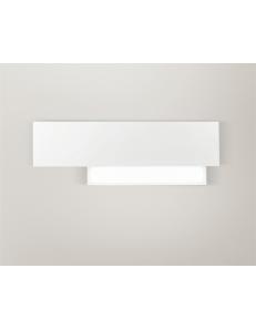 GEA LUCE: Doha piccola applique LED 15w lampada parete bianco in offerta