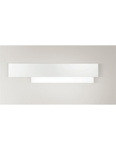 GEA LUCE: Doha grande applique LED 25w lampada parete bianco in offerta
