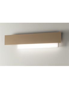 GEA LUCE: Doha grande applique LED 25w lampada parete bianco e tortora in offerta
