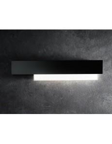 GEA LUCE: Doha grande applique LED 25w lampada parete nero e bianco in offerta