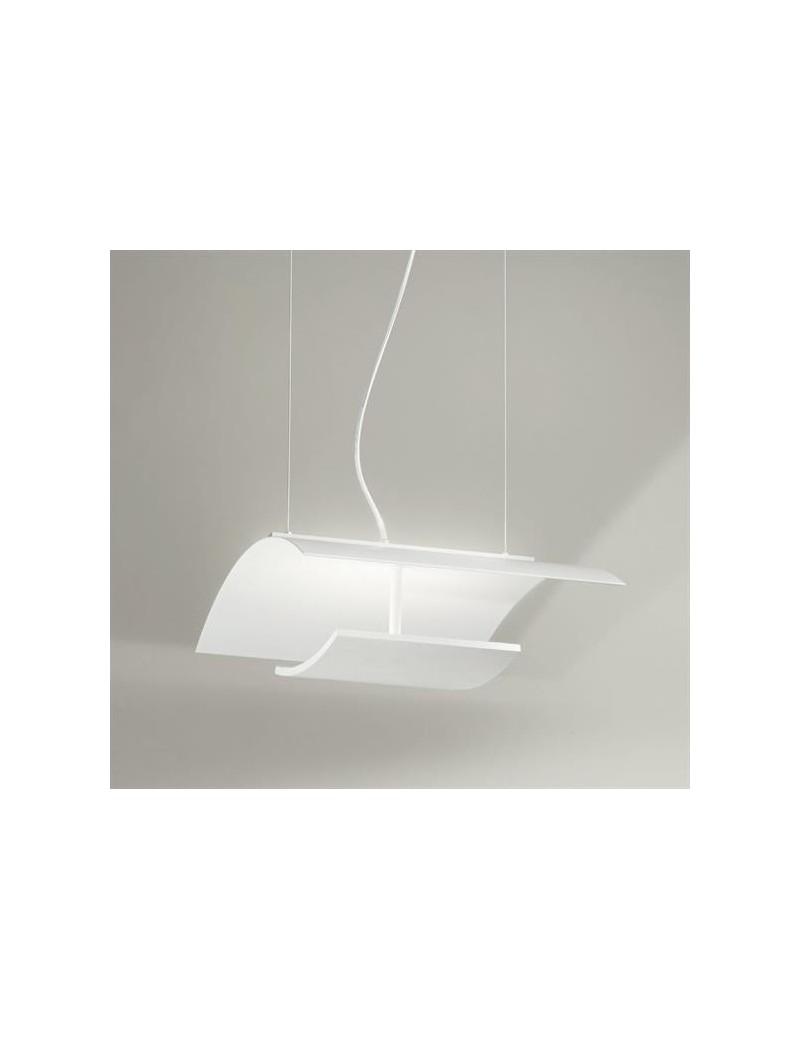 Lampadari X Cucina Moderna.Aria Lampadario Led Per Cucina Moderna Doppia Illuminazione Dimmerabile Bianco 54cm