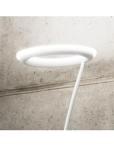Gea Luce: Piantana LED 24w 3000k dimmerabile bianca in offerta