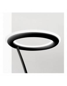 Gea Luce: Piantana LED 24w 3000k dimmerabile nero design