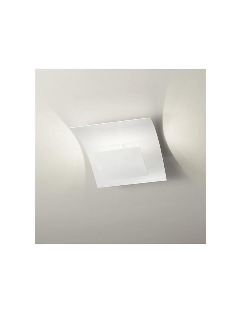 Aria plafoniera LED per camera da letto moderna bianca 54cm