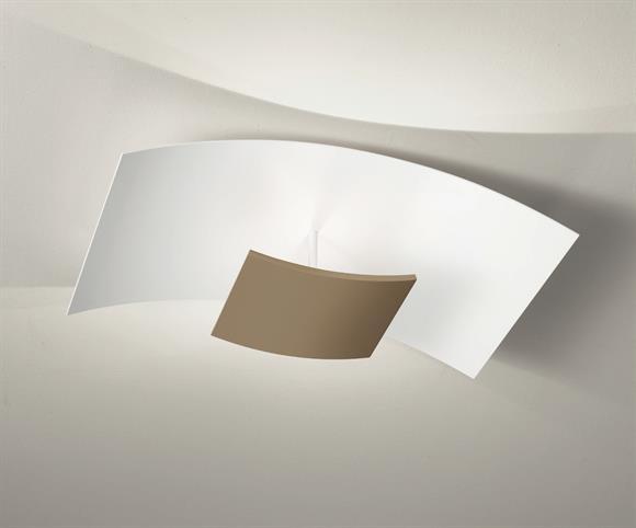Plafoniera Per Cucina Moderna : Gea luce febe plafoniera led per cucina w Ø cm bianca design