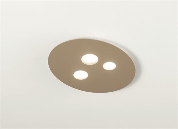 Plafoniere Da Cucina : Plafoniera design led w gx luna gea luce tortora per cucina