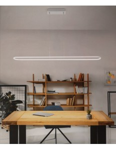PERENZ: Circuit 6622 sospensione LED bianca moderna luce calda in offerta