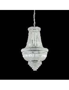 IDEAL LUX: Dubai sp10 cromo Lampada sospensione 10 luci in cristallo in offerta