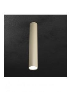 TOP LIGHT: Shape faretto plafoniera LED cilindro sabbia 50cm in offerta