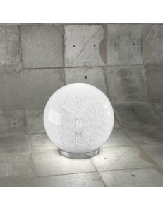 Glitter lampada da tavolo sfera Ø25 trasparente