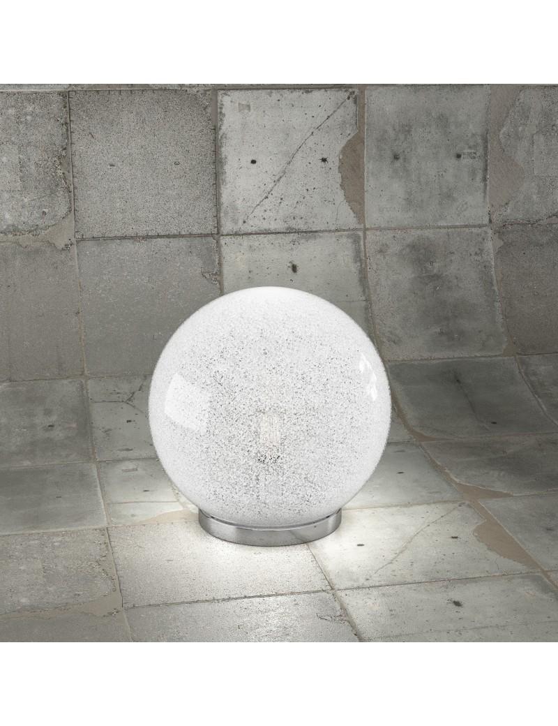 Top Light Glitter Lampada Da Tavolo Sfera 25 Trasparente Misterlight It