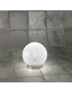 Glitter lumetto sfera Ø20cm trasparente