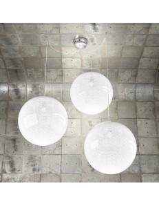 Glitter Sospensione 3 sfere Ø40cm