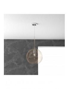 TOP LIGHT: Future sospensione boccia vetro ambra 25cm in offerta