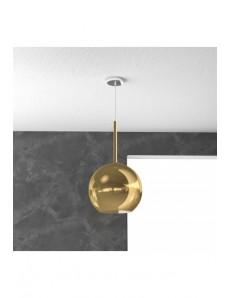 TOP LIGHT: Future sospensione boccia vetro oro 25cm in offerta